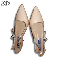 2017 Flats Women Sharp Top Shoes Summer Fashional Patent Genuine Leather Shoes Really Luxury Designer Comfortable
