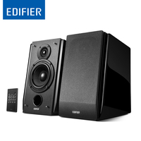 Edifier R1850DB Affordable Multifunctional Bookshelf Bluetooth Speakers With 4 Bass Driver And Front Facing Bass Reflex