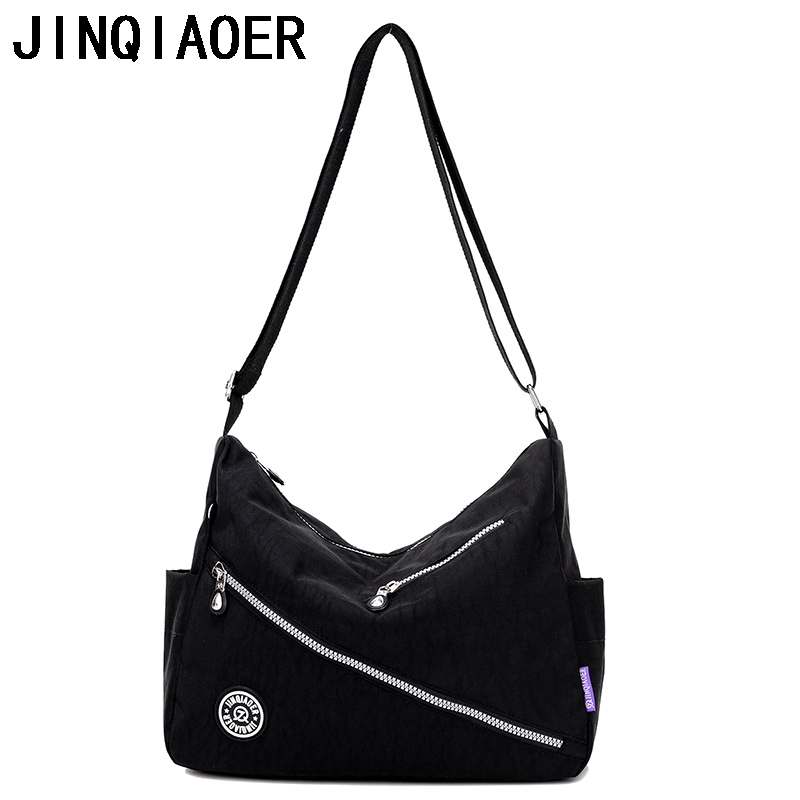 Women Crossbody Bags Female Nylon Shoulder Bag Messenger Bags Fashion Handbag Tote Ladies Bolsos Mujer Sac A Main Femme flower princess crossbody bags for women embroidered nylon shoulder bags schouder tassen dames ladies messenger bolsos mujer