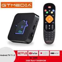 Original GTMEDIA G2 TV Box + IPTV server 4K HDR Android 7.1 Ultra HD 2G 16G WIFI Google cast Netflix IPTV Set-top-Box Media Player