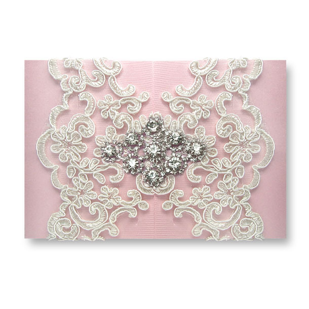 High End Elegant Wedding Invitations: High End ~Elegant Byzantinism Lace Wedding Invitations