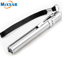 Zk90 Round Moon Shape Light Aluminium Alloy Mini Led Flashlight XML Cree Led Flashlight Torch Powerful