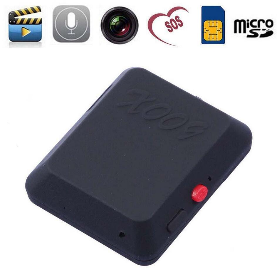 X009 Mini Camera Video Recorder SOS GPS DV Cam 850 900 1800 1900MHz Two way