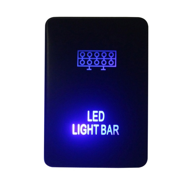 Diy switch 12v 3amp blue led led light bar push button switch for diy switch 12v 3amp blue led led light bar push button switch for toyota 2015 hilux aloadofball Image collections