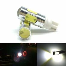 JURUS 2Pcs Auto T10 LED Bulbs White 7.5W Xenon Wedge Bulb194 168 192 W5W Led Lamp For Car Interior Lights Packing Backup Reverse