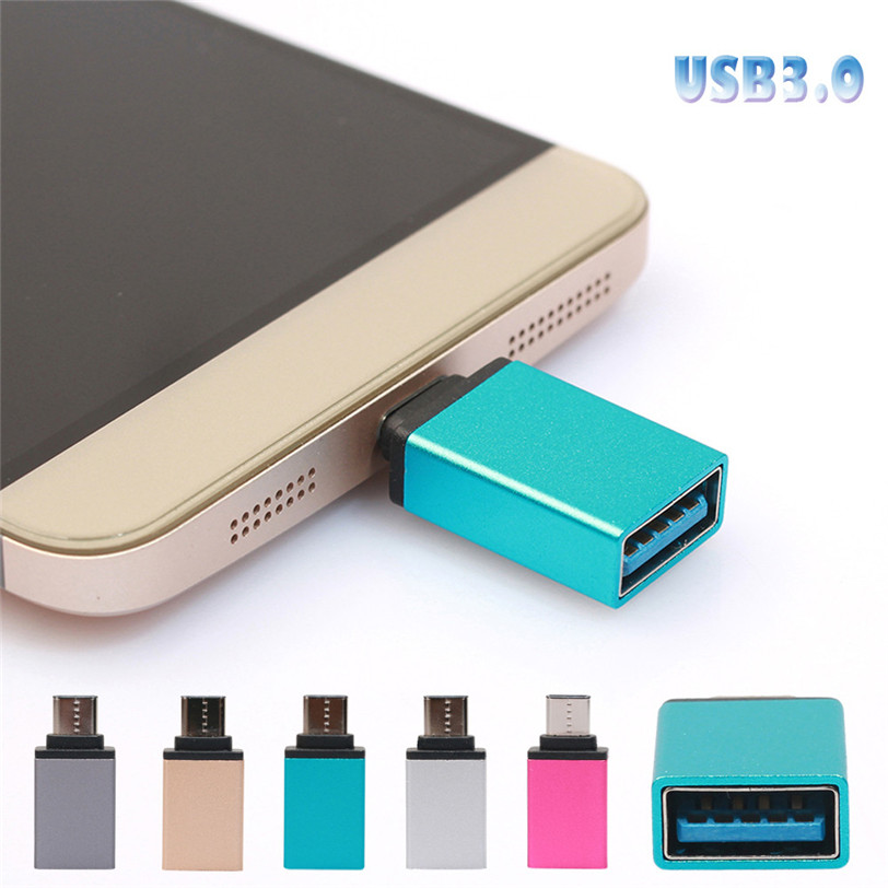 USB-C3.1 Type-C To USB OTG Adapter 3.0 Mini Converte High Speed USB 3.0 Data adapter For Samsung Galaxy Note8