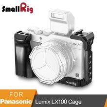 SmallRig LX100 قفص لباناسونيك لوميكس LX100 هيكل قفصي الشكل للكاميرا لتركيب ترايبود سريعة الإصدار واقية قفص مع الناتو السكك الحديدية 2198