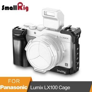 "Image 1 - SmallRig LX100 כלוב עבור Panasonic Lumix LX100 מצלמה כלוב כדי הר חצובה שחרור מהיר מגן כלוב עם נאט""ו רכבת  2198"