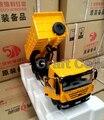 * 1:24 Escala Diecast Modelo de Camión Iveco Hongyan Jie León Tractor NUEVO KINGKAN con Descarga de Contenedores de Aleación de Juguete