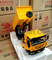 * 1:24 Scale Iveco Hongyan Jie Lion Tractor NEW KINGKAN Diecast Model Truck with Unloading Container Alloy Toy