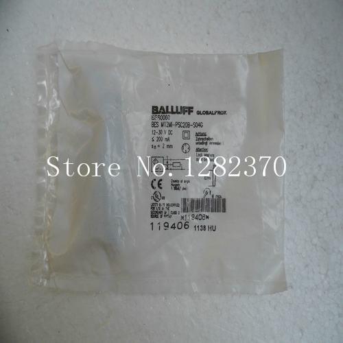 [SA] New original special sales BALLUFF sensor BES-M12MI-PSC20B-S04G spot --2PCS/LOT  цены