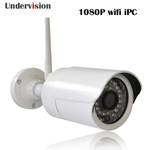 HD 1080 P 2 Мегапиксельная SONY MX 122 CMOS P2P Ночного Видения ИК Водонепроницаемая Беспроводная Ip-камера, бесплатная доставка