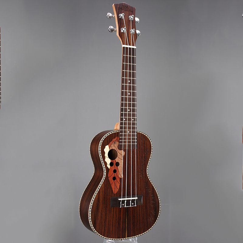 23 pulgadas Ukulele 4 cuerdas Guitarra Acústica Instrumentos Musicales Marrón Cl