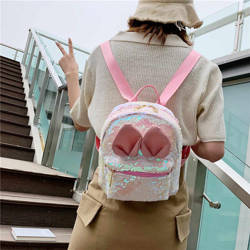 Jepang Ransel Mahasiswa Fashion Wanita Ransel Memukul Warna Tas Sekolah Tas Perjalanan Tas Bahu Mochila Feminina Viagem # G69