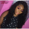 Virgin Afro Kinky Curly Lace Front Wig Hot Sale Mongolian Human Hair Curly Full Lace Front Wigs Cheap Pre Plucked Swiss Lace Wig