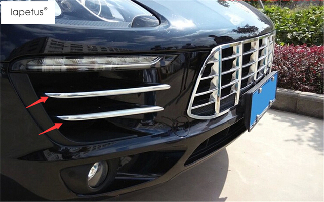 limited guantity top design outlet boutique Aliexpress.com : Buy ABS ! Accessories For Porsche Macan 2014 2017 Chrome  Front Head Fog Light Lamp Decoration Molding Cover Kit Trim 4 Piece from ...
