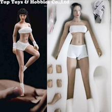 whole set head and body  SEXY TBLeague PHMB2018-T01A/B 1/12th Super-Flexible Female Suntan/pale Skin Seamless Body with
