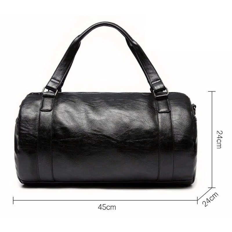 Aliexpress.com : Buy CONTACT'S High Quality Men Travel Bag Leather ...
