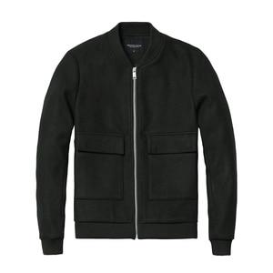 Image 5 - SIMWOOD 2020 wiosna marka odzież kurtka mężczyźni moda Casual odzież wysmuklająca kurtki męskie płaszcze Jaqueta Masculina JK017015
