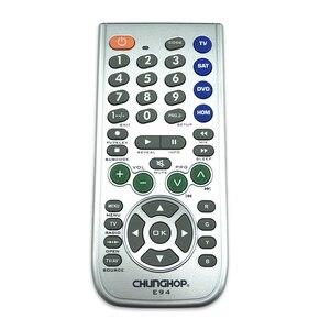 Image 3 - Novo 4 in1 inteligente universal controle remoto multifunções controlador para tv aux hom dvd sat função de aprendizagem botão grande e94