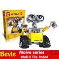 LEPIN 16003 687 Unids con caja original Serie Movie Idea Edificio Modelo de Robot Wall-e Juguetes conjunto Compatible Con 21303