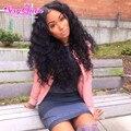 Black Girl Dream 7A Peruvian Deep Wave With Closure 5 Bundles Queen Hair With Closure Cheap Peruvian Hair With Closure Bundle