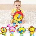 Brinquedos do bebê do leão e macaco play fun bonito chocalhos bonecas de pelúcia bicho de pelúcia para meninos e meninas... dbyc038 pt49