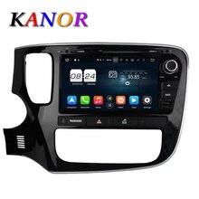 Kanor 2 г + 32 г окта основные android 6.0 dvd-плеер автомобиля для mitsubishi outlander 2013 2014 2015 головного устройства gps навигация стерео