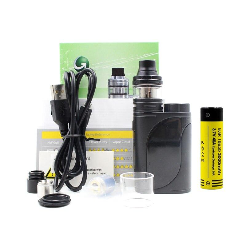 Electronic cigarette vape Eleaf iStick 25 Vape Kit 85w Box mod with 18650 Ello Tank 2ml & HW Coil iStick Mod Original