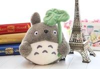 35cm anime totoro doll ,lotus leaf totoro plush toy , birthday gift w8807