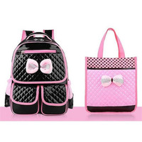 Lovely Princess Girls Bag Elementary Student 1 3 4 Grade 6 Density School Bag Water Proof