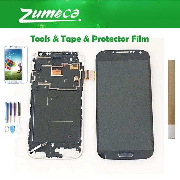0af0b93e842 Cheap Para Samsung Galaxy S4 i9500 i9505 i337 Samsung I9500 pantalla LCD +  Panel de pantalla