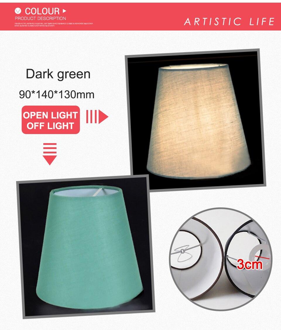 cristal lâmpada parede sombra luz abajur 90*140*130mm