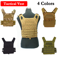 600D Nylon JPC Tactical Vest Simplified Version Military Protective Plate Carrier Plate Carrier Vest Ammo Magazine Body Armor wolf enemy ultralight ballistic plate carrier quick release police swat vest tactical ballistic armor plate carrier vest