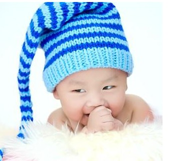 b1f2b78c567 Liras ball yarn cap sleeve autumn and winter baby knitted hat baby hat  child hat christmas hat