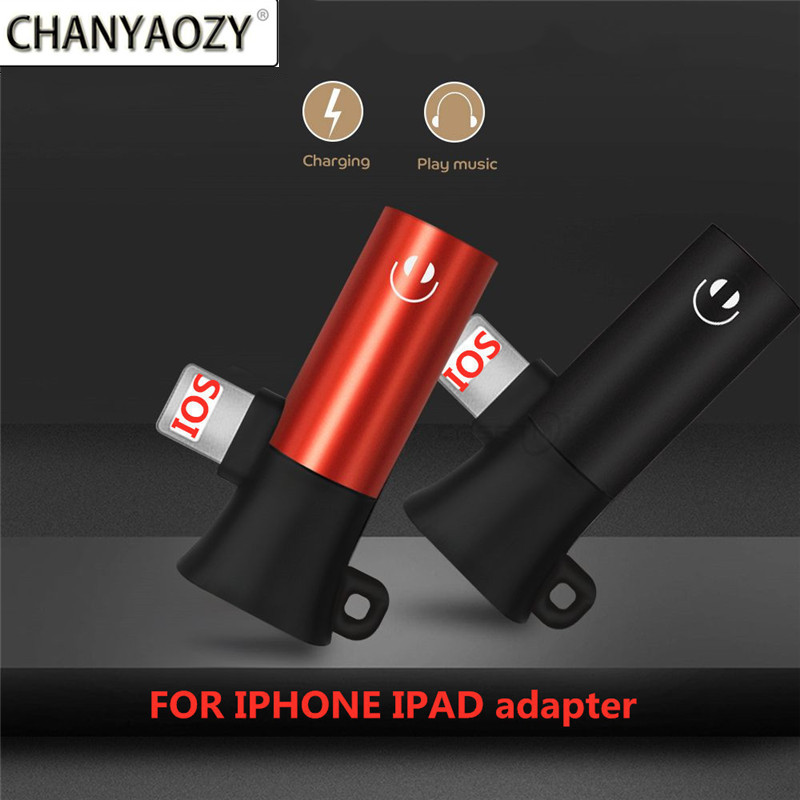Audio Adapter For Lightning To 3.5mm Charging Call For Iphone 6 X 8 7 Plus XS MAX XR Original Headphone AUX Splitter Connector