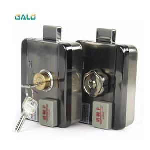 Image 2 - Электронный RFID замок на дверные ворота/умный электрический ударопрочный замок, магнитная Индукционная система контроля доступа к входной двери с 15 метками