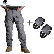 EMERSONGEAR боевые брюки G3 новые охотничьи брюки военные армейские брюки тактические боевые брюки с наколенниками Мультикам WG EM9351