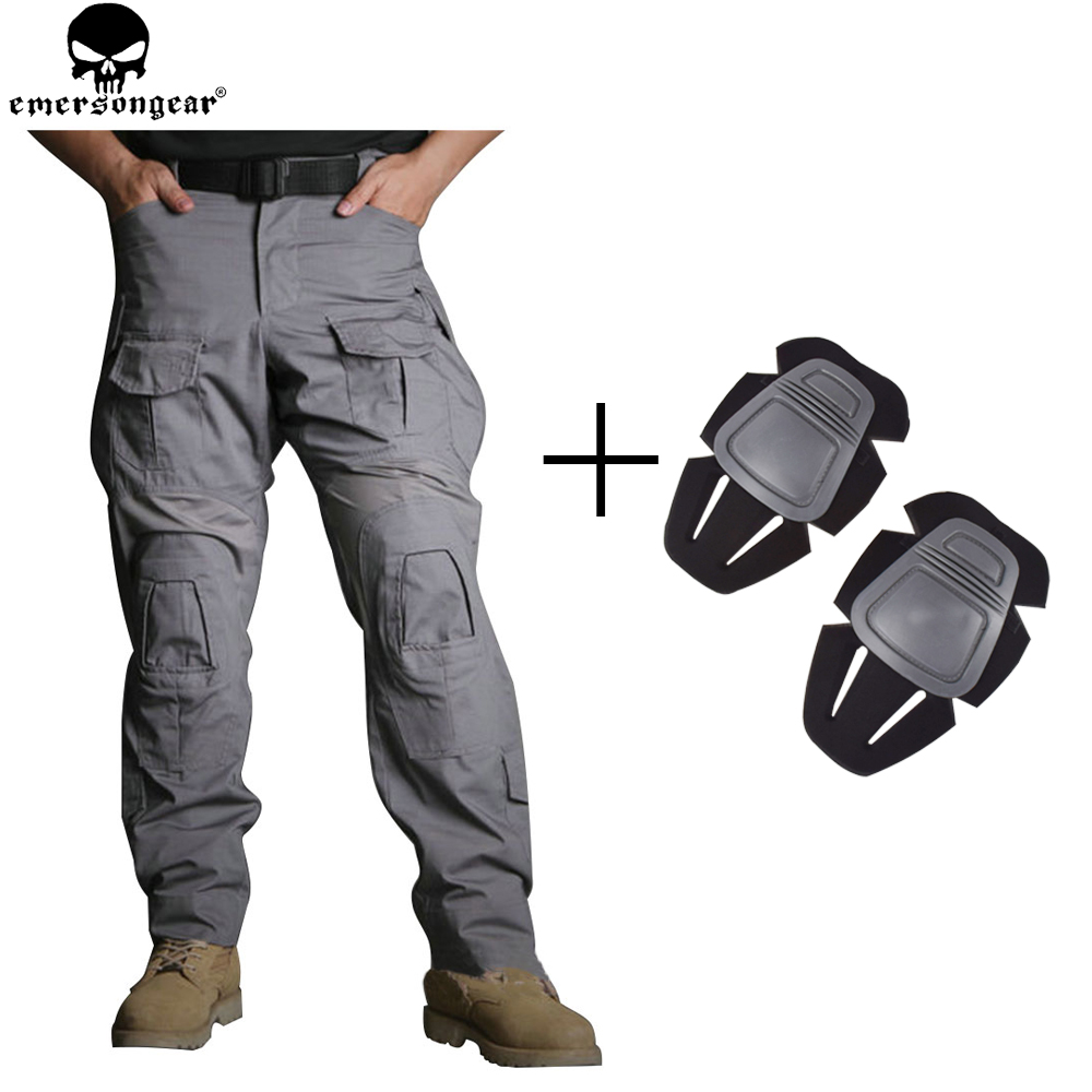 EMERSONGEAR G3 New Hunting Pants  Military Army Trousers Tactical Pants with Knee Pads Multicam WG EM9351 scoyco motorcycle riding knee protector extreme sports knee pads bycle cycling bike racing tactal skate protective ear