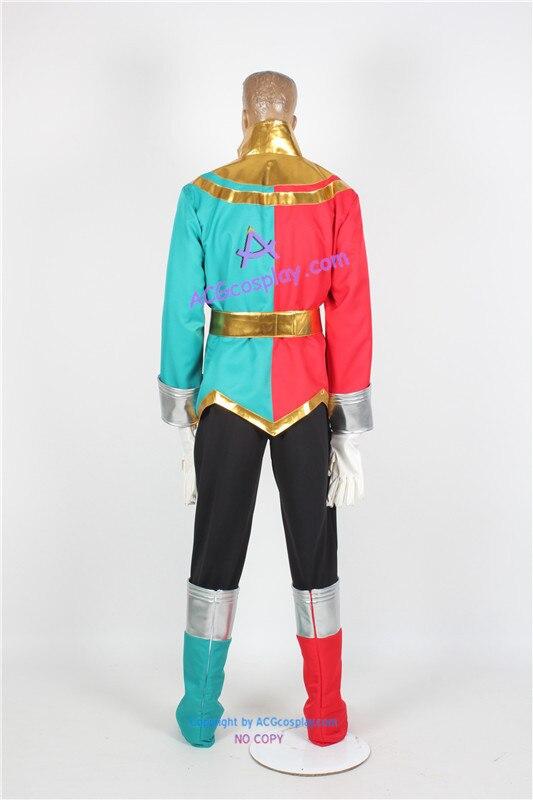 Kaizoku Sentai Gokaiger Gai Ikari Gokai Christmas Cosplay Costume ...