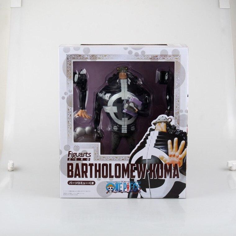 ФОТО Anime One Piece Zero  Bartholemew Kuma New World PVC Action Figure Collectible Model Toy Dolls 23cm KT1298