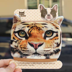 Персональная креативная маска Тедди 2019 хлопок ежедневная дорожная маска Тигр собака кошка маска лучший подарок Пылезащитная и пряжа маска