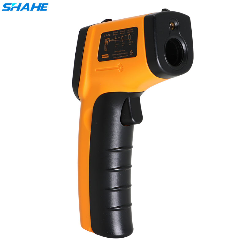 SHAHE Digital Termometro A Infrarossi senza contatto del Laser di IR Temperatura Gun Pirometro Misuratore di-50-380C Misuratore Portatile Pirometro