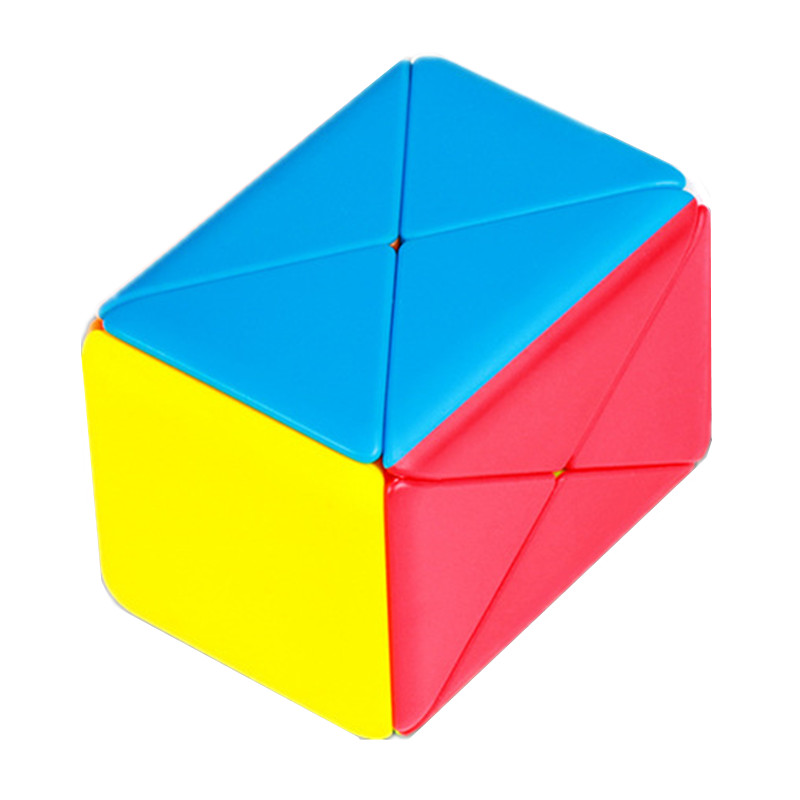 New Arrival MoYu magic box magic cube colorful stickerless 3x3x3 box shaped smooth student educational puzzle toys for children surwish magic mystery box puzzle wooden box for adult hiding jewelry cash