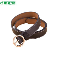 Elegant Nobility Fashion Women's Belt Vintage Casual Thin Leisure Leather Belts Jan 6