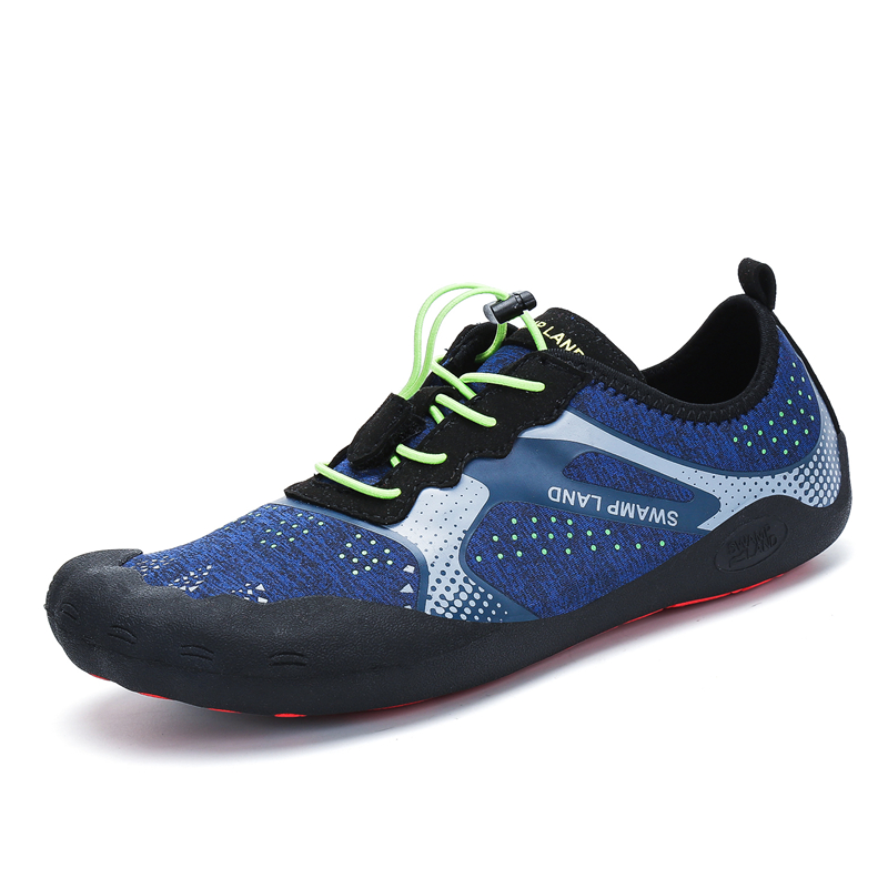 Water Shoes Men Summer Breathable Aqua Shoes Rubber Upstream Shoes Woman Beach Sandals Diving Swimming Socks Tenis Masculino