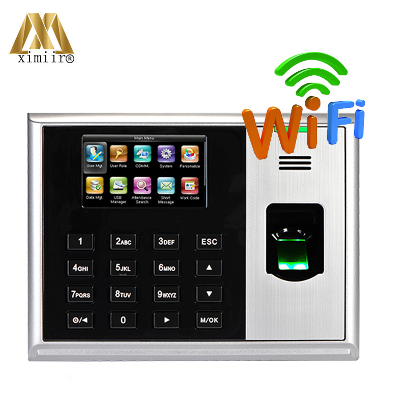 ZMM220 Fingerprint Time Attendance ZK S30 With WIFI Communication TCP/IP Biometric Time Recorder Time Terminal Device