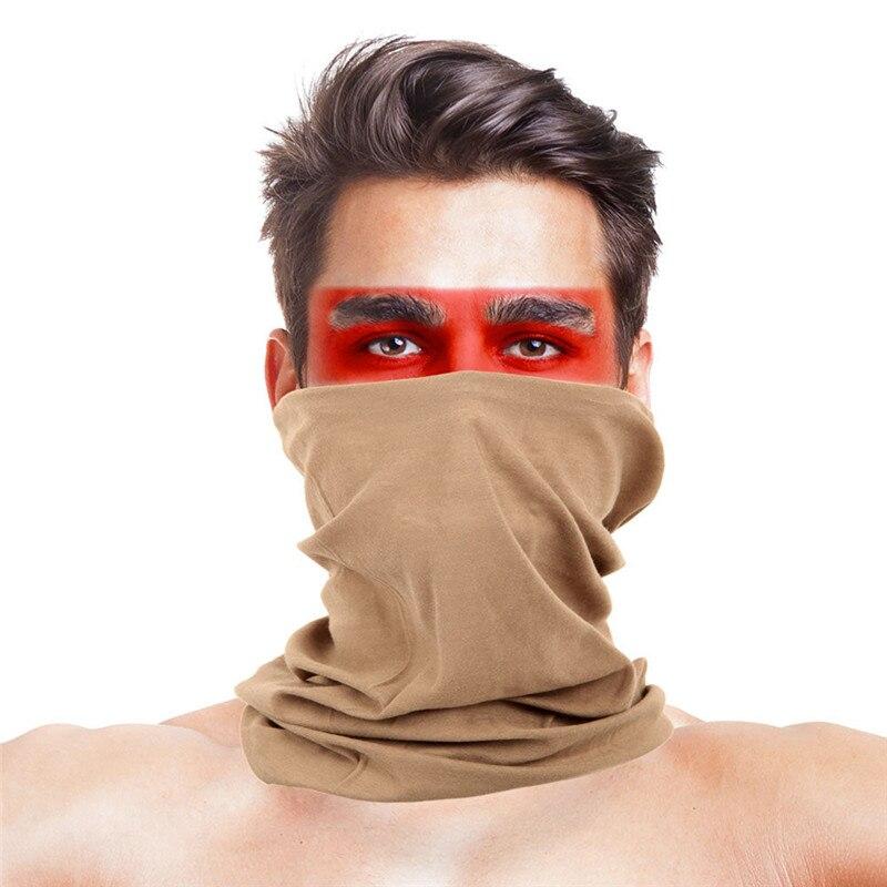 Военные страйкбол маски для вечеринки Полиэстеровые повязки на голову шарф Вечерние Маски унисекс головной убор Хэллоуин пугающая маска - Цвет: 044