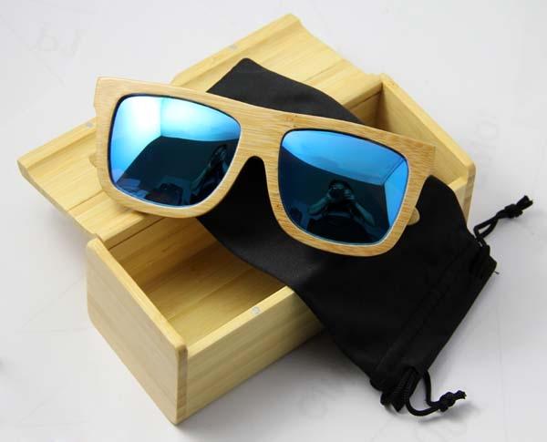 2015 Bamboo sunglasses &wooden handmade Sunglasses polarized lens - Fashion No1 eyewear store