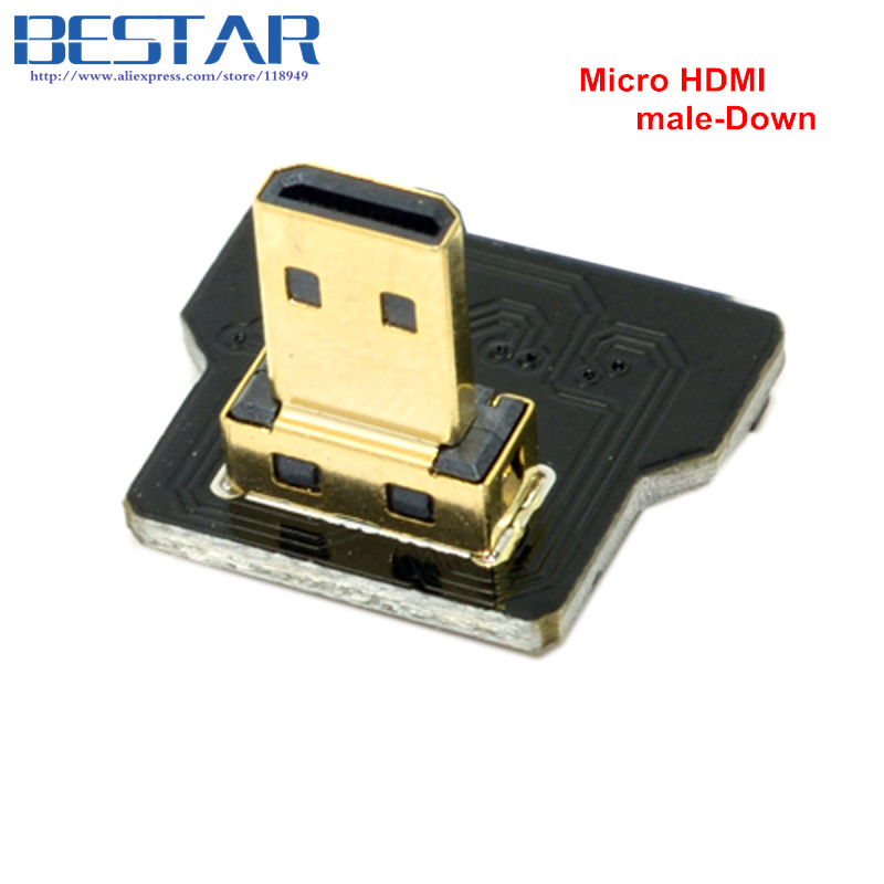 CYFPV Micro HDMI Type D Female-socket & male-Straight & male-Up & - Computer kabels en connectoren - Foto 3